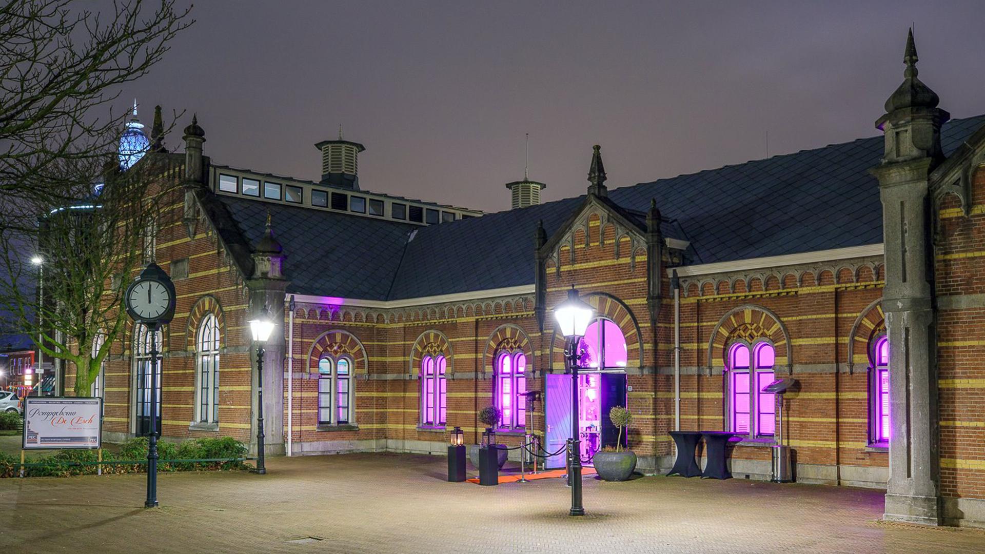 Pompgebouw de Esch evenementenlocatie in Rotterdam